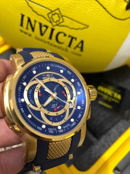 Relogio Invicta S1 Rally Azul + Caixa Original