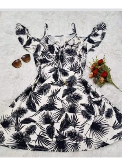Vestido Feminino Ciganinha De Viscolycra Tamanho Gg