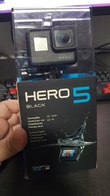 Gopro Hero 5 Black C/ 128gb Completa Na Cx Nova