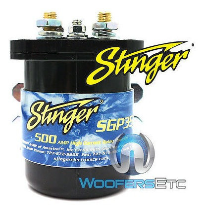 Aislador De Batería De Relé Sgp35 Stinger 500 Amp Para Sist