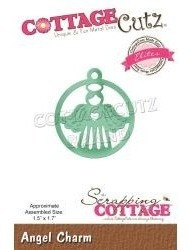 Scrapbook Cottage Cutz Troquel Dije Angel 3.8x4.3cm Comunion