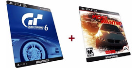 Gran Turismo + Need For Speed Most Wanted Game Ps3 Psn