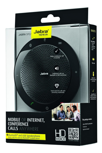 Speaker Jabra 510 Ms+ Dgle (conferencia Por Internet)