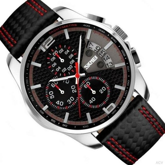 Relógio Skmei 9106 Masculino Cronógrafo Esportivo E Casual