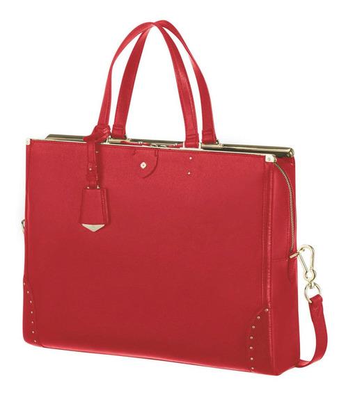 Cartera Elizabeth Bailhandle 14.1 Scarlet Red