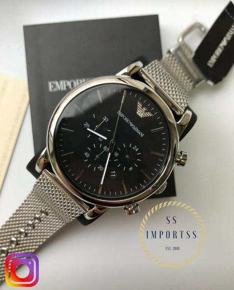 Relógio Emporio Armani Ar1811 Masculino C/ Garantia