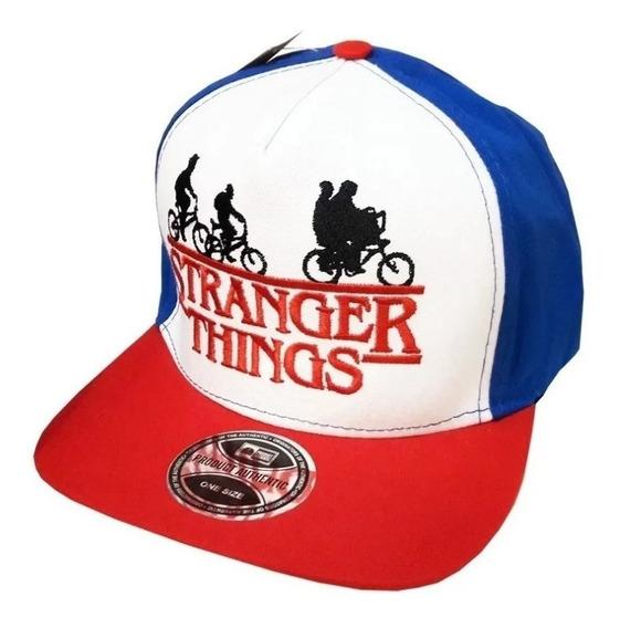 Boné Stranger Things Dustin Aba Reta Unissex Snapback