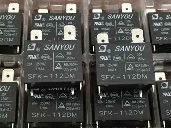 10 Rele Placa Eletrônica Ar Condicionado Split Sfk-112dm