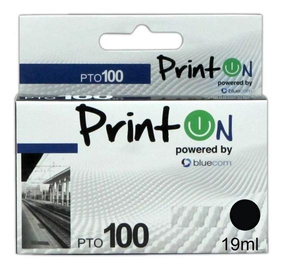Cartucho Marca Printon Para Impresora Lexmark 14n0820e Negro