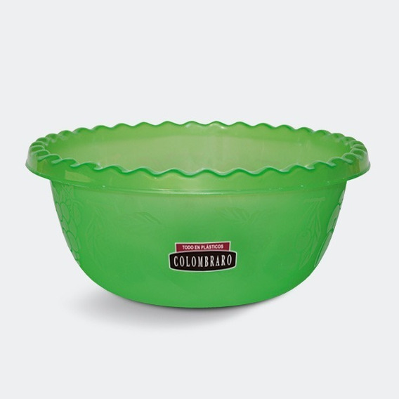 Ensaladera Tutti Frutti / Bowl Plastico Grande Colombraro