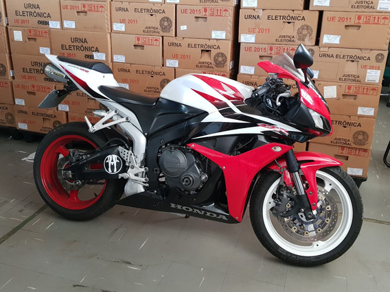 Honda Cbr 600 Rr 2008 - Hollywood - Tricolor - Impecável