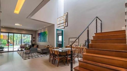 Imagem 1 de 29 de Rrcod3539 - Casa 360m² Condomínio Residencial 9 - 4 Suítes - 2 Vagas - Oportunidade - Ótima Localização - Rr3539 - 69453026