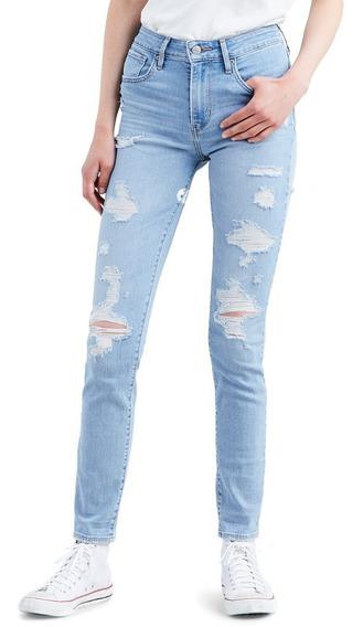 Pantalones En Pana Para Mujer Pantalones Y Jeans Jean Levi S Azul Claro Al Mejor Precio En Mercado Libre Colombia