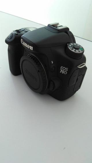 Camera Canon 70d Com 8784 Cliques ( Usada)