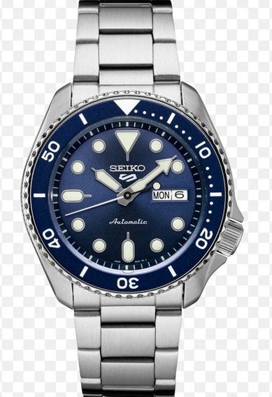 Maravilhoso Relógio Seiko 5 Sports Srpd51 Azul Automático