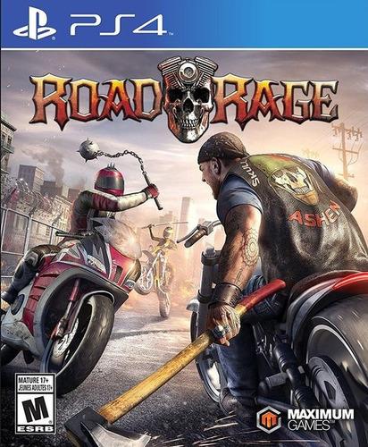 Road Rage Ps4 Original Fisico Sellado Blu-ray