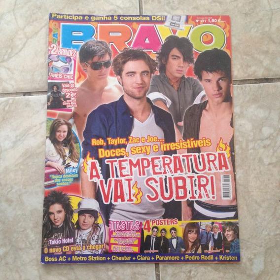 Revista Bravo 277 20/04/2009 Taylor, Zac, Joe E Tokio Hotel