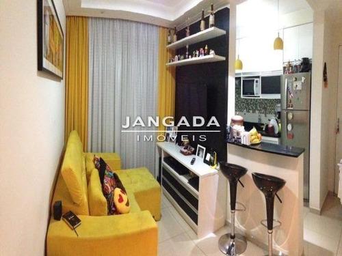 Lindo Apartamento No Condominio Solar Nogueiras/osasco. - 10626