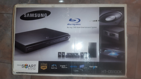 Blu-ray Home Theater Samsung Ht-d5100k