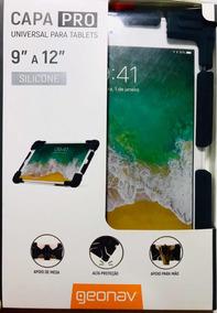 Case Protetora Anti-impacto Silicone Universal iPad