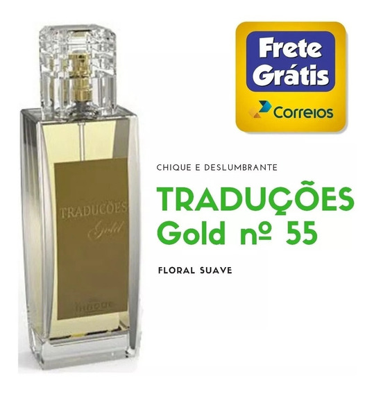 Perfume Traduções Gold Nº 55 Da Hinode - Envio Imediato