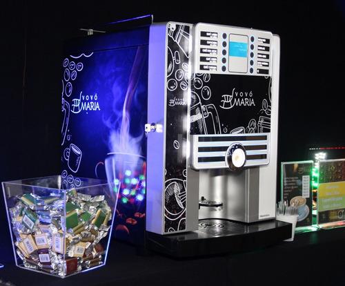 Imagem 1 de 10 de Máquinas De Café E Bebidas Quentes Comodato E Locação