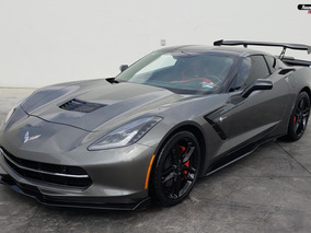 Chevrolet Corvette Stingray Z51 Coupe Gris Oxford 2016