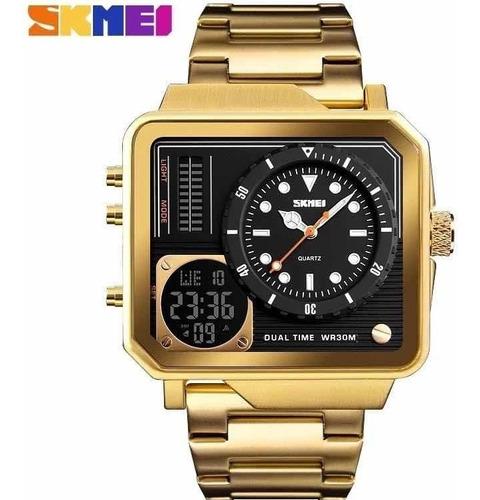 Relógio Masculino Skimei Digital Funcional Promoção