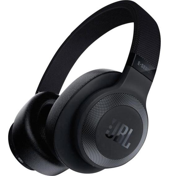 Kit Fone Ouvido Headphone Jbl E65 Nc Bluetooth Preto 2 Peças