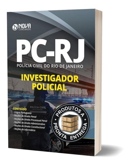 Apostila Pc-rj 2020 - Investigador Policial - Ed. Nova