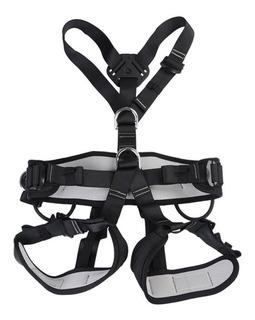 Arnés Del Cinturón De Seguridad Cuerpo Para Escalada De Á