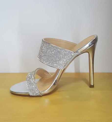 8b0955fb Zapatos De Tacon Elegante Plateados en Mercado Libre Colombia