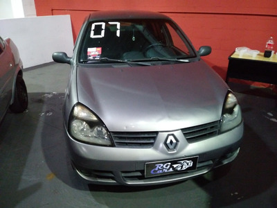 Clio Sedan 2007 1.0 Com Ar E Direção!