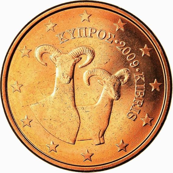Chipre Moneda De 5 Cents Euro Año 2009 Sin Circular Fauna