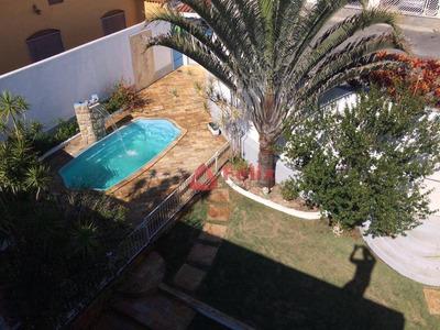 Sobrado Com 4 Dormitórios À Venda, 292 M² Por R$ 720.000 - Parque Das Fontes - Tremembé/sp - So0670