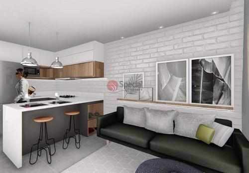 Apartamento Com 2 Dormitórios À Venda, 46 M² - Jardim Têxtil - São Paulo/sp - Af21006