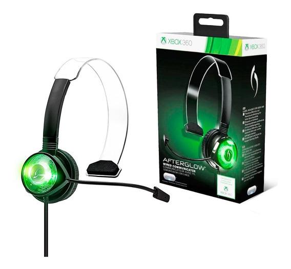 Fone De Ouvido Afterglow Chat Communicator Para Xbox 360 - P