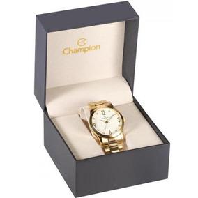 Relógio Feminino Champion Cn29061h Dourado