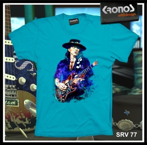 Remeras Stevie Ray Vaughan Rock Blues Guitarra Srv M.077