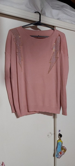Sweater Rosa Lanilla