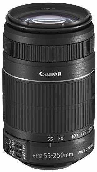 Lente Canon Ef-s 55-250mm, Telefoto, Zoom, N É Nikon, Sony..