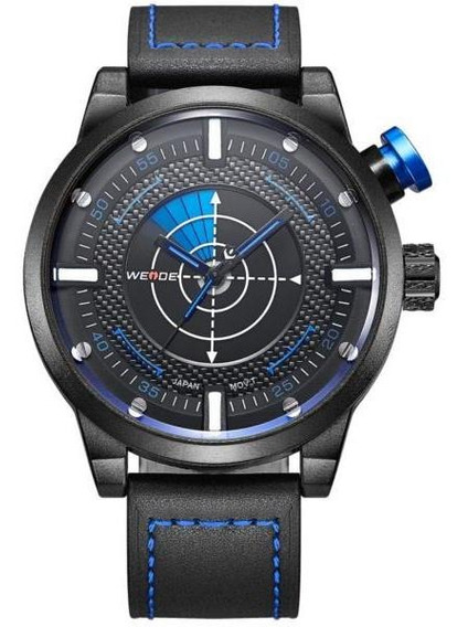Weide Wh5201-3c Moda Homens Relógio De Quartzo Pulseira De C