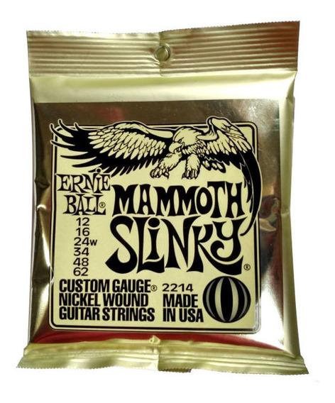 Enc Ernie Ball Mammoth Slinky Guitarra .012/.062 2214
