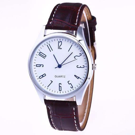 Reloj Casual Cuarzo Marca Susenstone Modelo Gran Gatsby Café