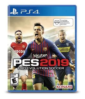 Pro Evolution Soccer Pes 2019 Ps4 Nuevo (en D3 Gamers)
