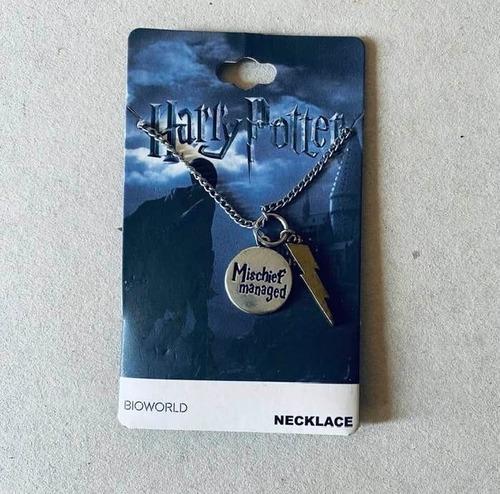 Imagen 1 de 2 de Collar Harry Potter - Mischief Managed Oficial Bioworld