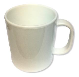 6 Tazas Blancas Sublimables Polimero Sublimacion 4mm Espesor