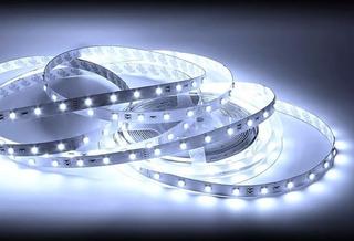 Tira Led 5mts Blanco Frio 5050 Interior Luz Decorativa