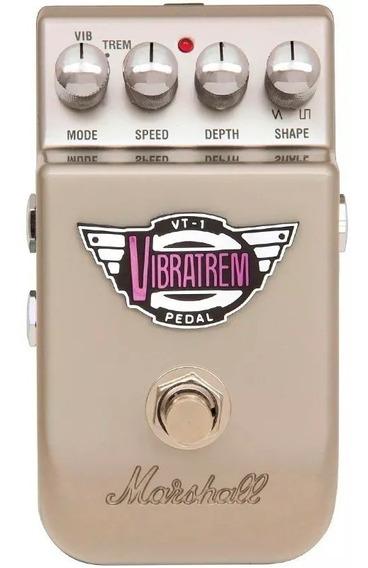 Pedal Marshall Vibrato Tremolo Vt1 Vibratrem Garantia 2 Anos