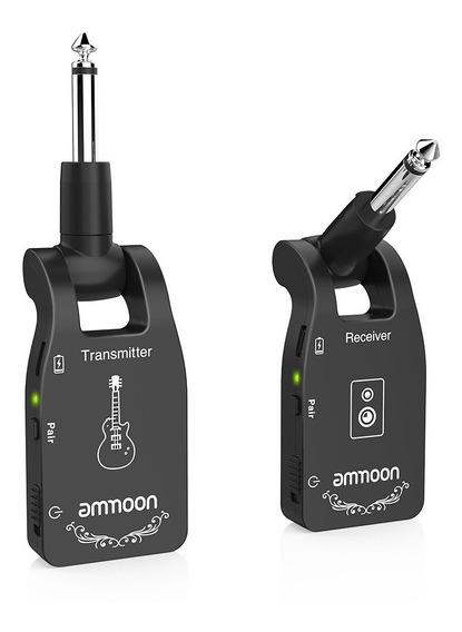 Transmissor Receptor Sem Fio 2.4g Guitarra Violão Até 15 M